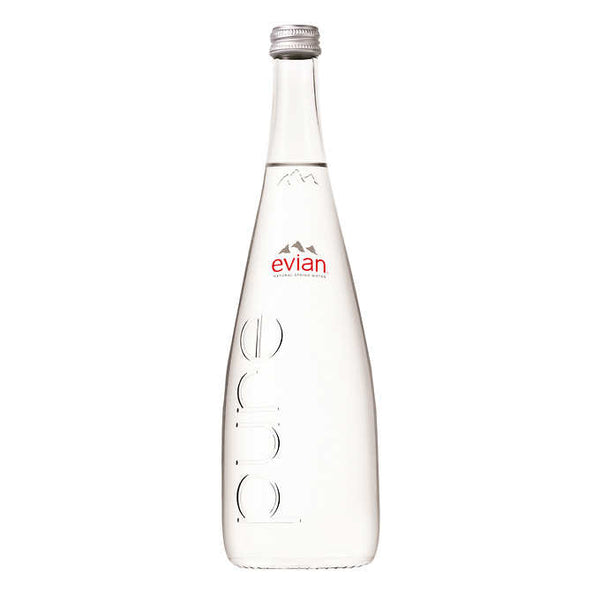 Evian Natural Spring Water 750 mL