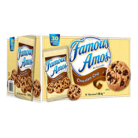 Famous Amos Chocolate Chip Cookies 30 × 56 g