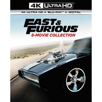 Fast and Furious 8 Movie Collection 4K-UHD adea blu-ray