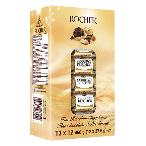 Ferrero Rocher Chocolates 12 × 37.5 g