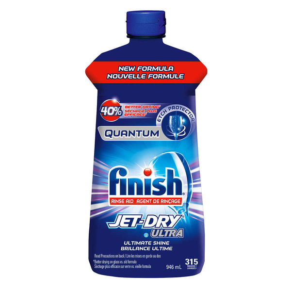 Finish Quantum Jet-Dry Ultra Rinse Agent 315 washes