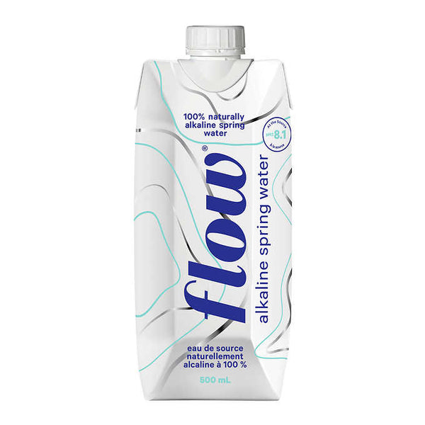 Flow Alkaline Spring Water 500 mL