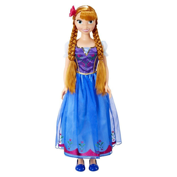 Frozen Anna My Size Doll 3' Walt Disney Jakks Pacific