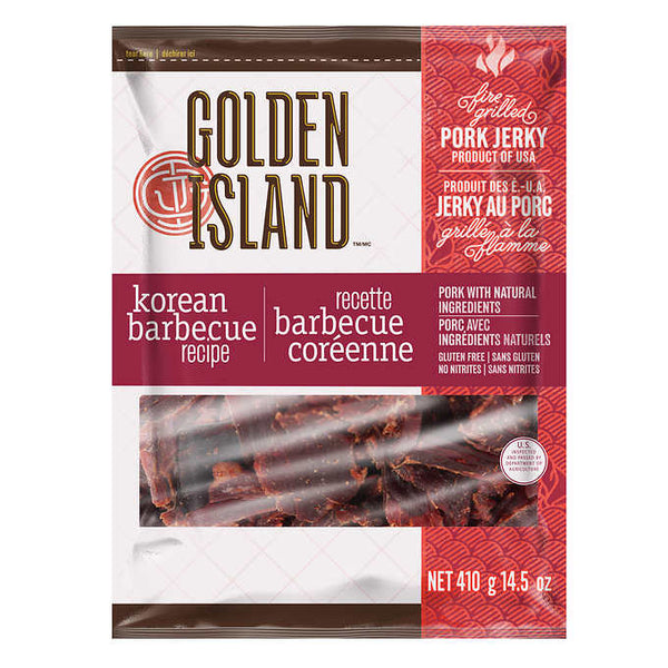 Golden Island Korean Barbecue Pork Jerky 410 g