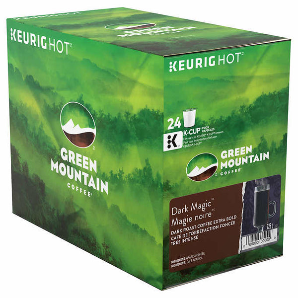 Green Mountain Dark Magic Extra Bold, 24 K-Cup Pods