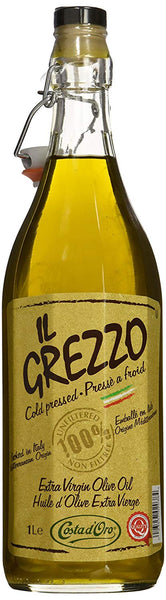 Grezzo Unfiltered Extra Virgin Olive Oil 1 L