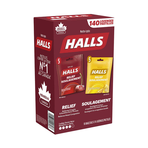 Halls Club Pack Pack of 10