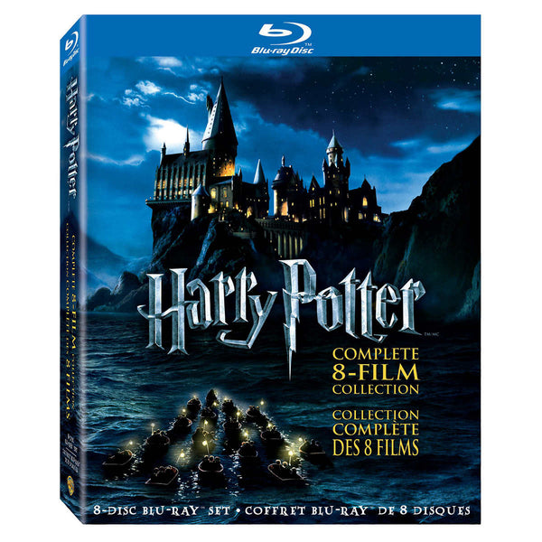 Harry Potter Complete 8 Film Collection Blu-Ray adea movies