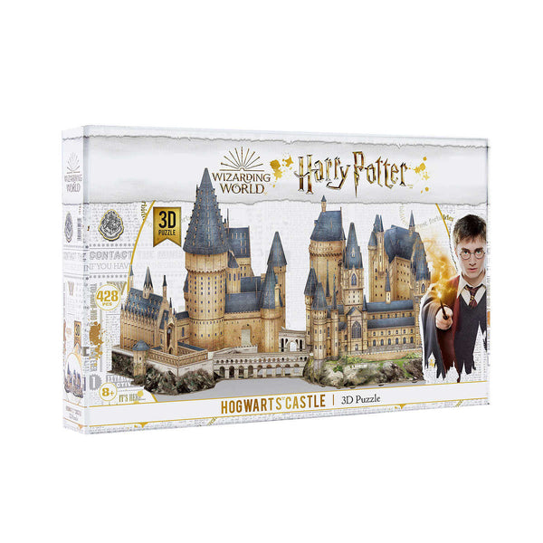 Harry Potter Hogwarts Castle 3D Puzzle adea board games jigsaw puzzle