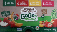 GoGo Squeez Fruit Sauce Variety Pack 24 × 90 g