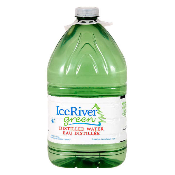 Ice River Green Distilled Water 4 L