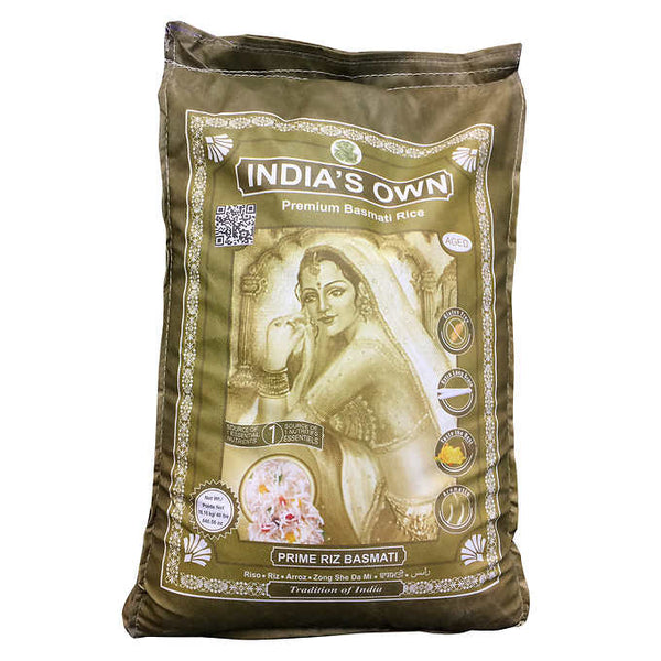 India's Own Premium Basmati Rice 18.14 kg