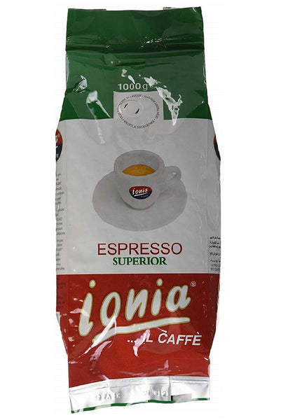 Ionia Espresso Superior Whole Bean Coffee 1 kg