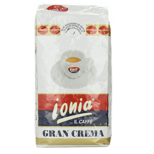 Ionia Gran Crema Whole Bean Coffee 1 kg