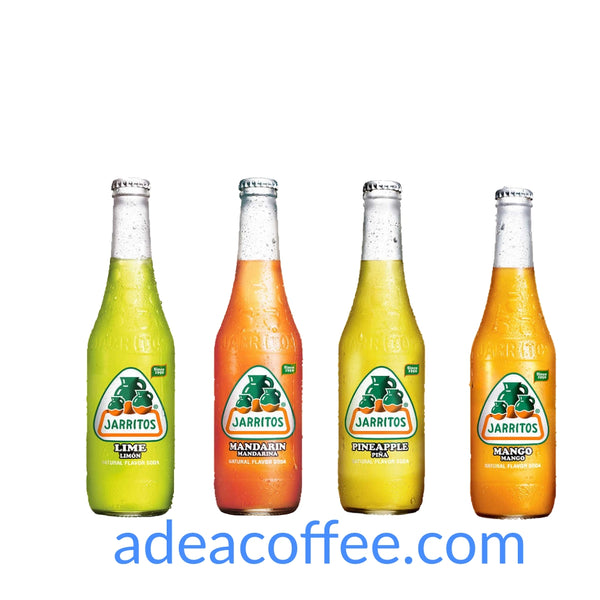 Jarritos Soda Variety Pack 12 x 370 mL