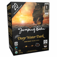 Jumping Bean Deep Water Dark Roast Coffee 20 Pods