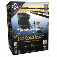 Jumping Bean East Coast Roast Coffee 40 Pods