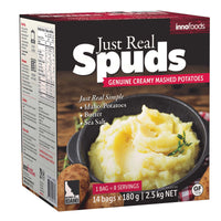 Just Real Spuds Mashed Potatoes, 2.5kg
