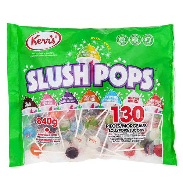 Kerr's Slush Pops Lollypops 840 g