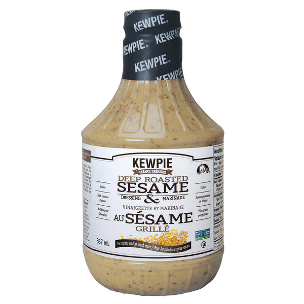 Kewpie Deep Roasted Sesame Dressing and Marinade 887 mL