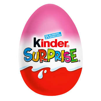 Kinder Surprise Pink Chocolate Eggs 24 × 20 g