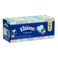 Kleenex Trusted Care Facial Tissues Pack of 16