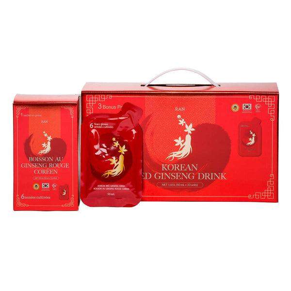 Korean Red Ginseng Tonic, 33-count adea coffee