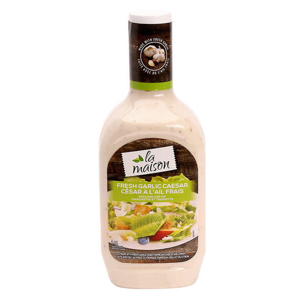 La Maison Fresh Garlic Caesar Dressing 1.4 L