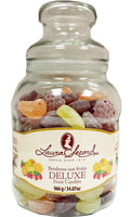 Laura Secord Deluxe Hard Fruit Candies in Decorative Glass Jar 966 g