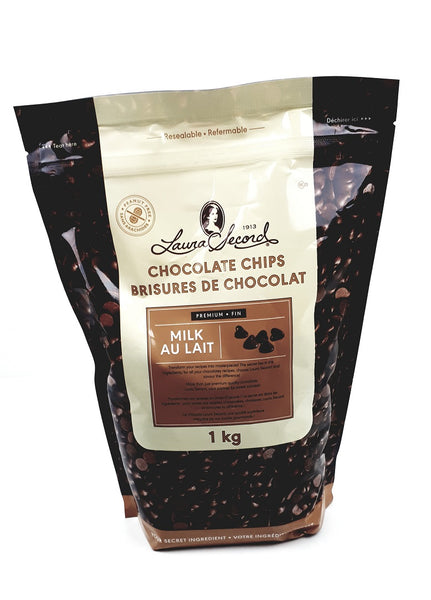 Laura Secord Milk Chocolate Chips 1 Kg
