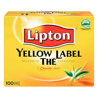 Lipton® Yellow Label Black Tea, 3 Packages of 100 bags each