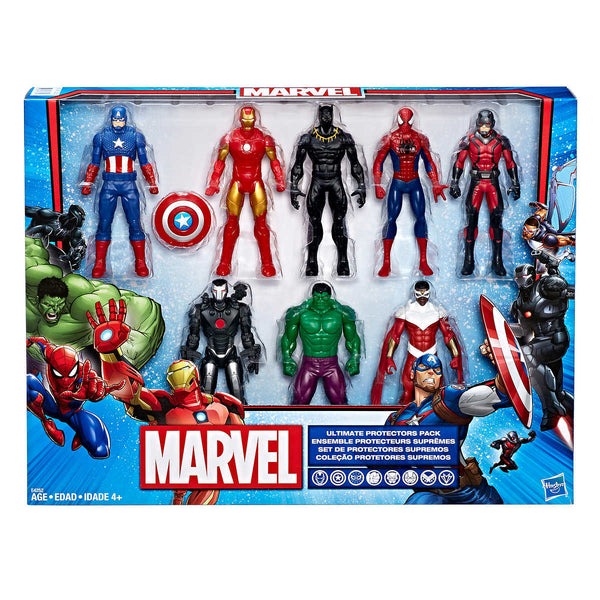 Marvel Ultimate Protectors Figure, 8-pack adea toys