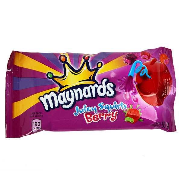 Maynards Juicy Squirts Berries 55 g