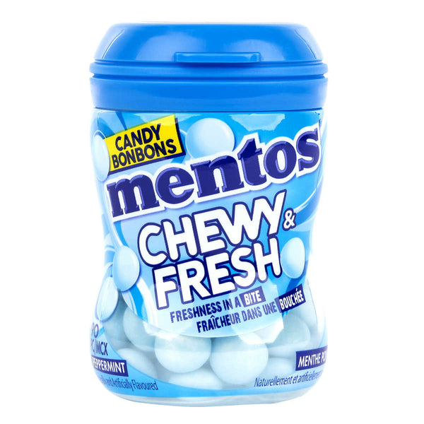 Mentos Chewy & Fresh Peppermint Candy 81 g adea