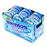 Mentos Chewy & Fresh Peppermint Candy 6 × 81 g adea