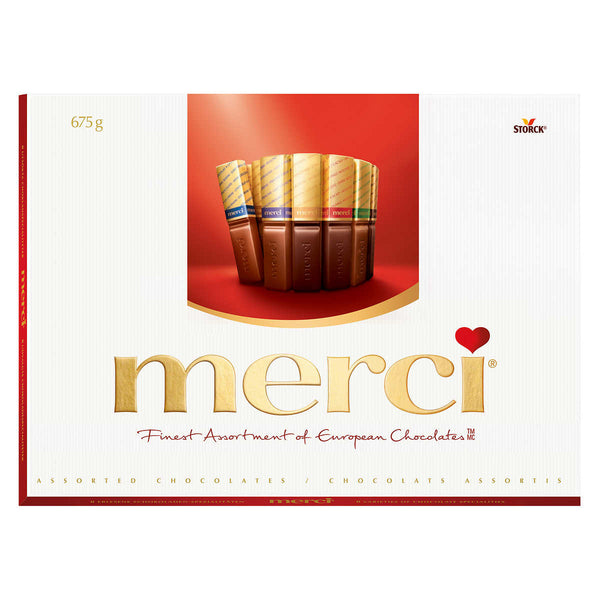 Merci Finest Selection of European Chocolates, 675 g adea sweets