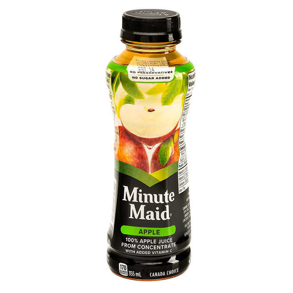 Minute Maid Apple Juice 355 mL