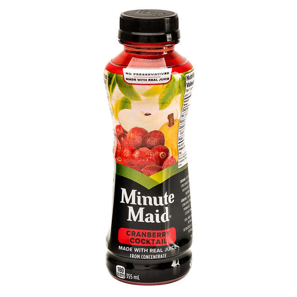 Minute Maid Cranberry Cocktail 12 × 355 mL