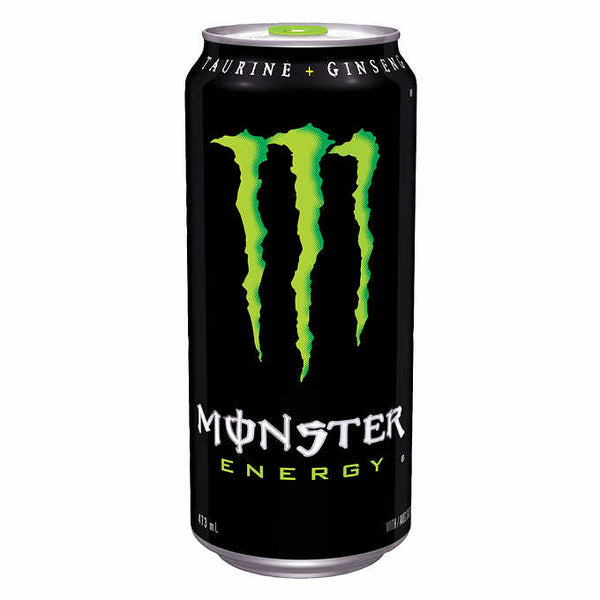 Monster Energy Drink, 473 mL, 12-pack
