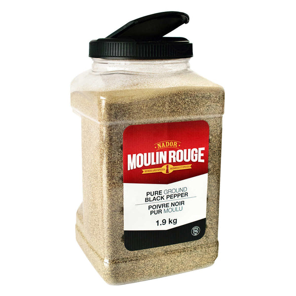 Moulin Rouge Ground Black Pepper 1.9 kg