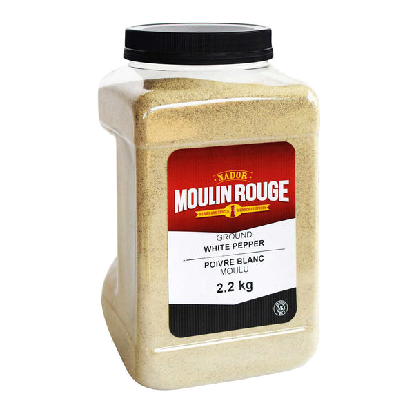 Moulin Rouge Ground White Pepper 2.2 kg