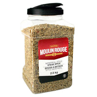 Moulin Rouge Montreal Style Steak Spice 2.5 kg