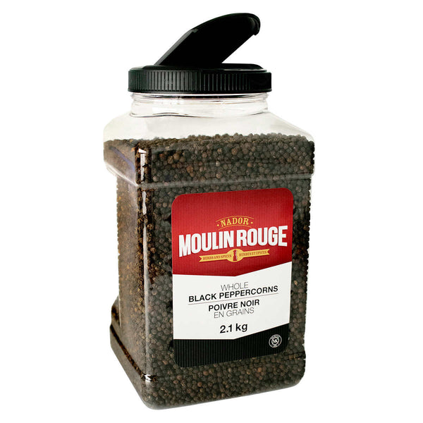 Moulin Rouge Whole Black Peppercorns 2.1 kg