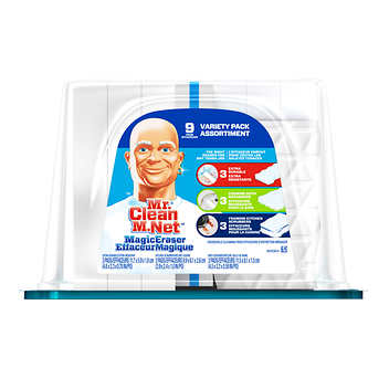 Mr. Clean Magic Eraser Variety Pack Pack of 9