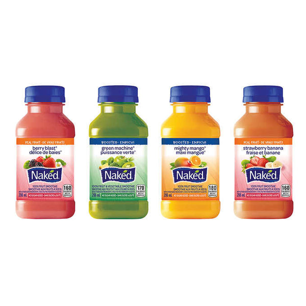 Naked Juice Smoothie Variety Pack 12 × 296 mL