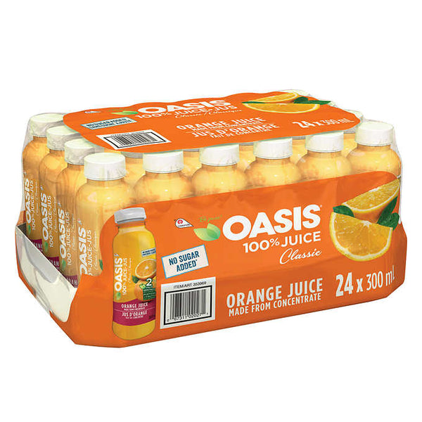 Oasis Orange Juice 24 × 300 mL