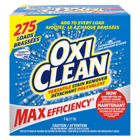 OxiClean Max Efficiency Stain Remover 275 loads