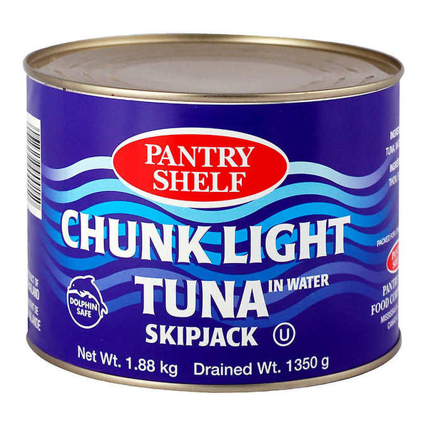 Pantry Shelf Chunk Light Tuna in Water 1.88 kg
