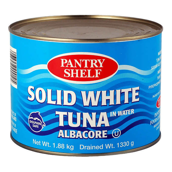 Pantry Shelf Solid White Albacore Tuna in Water 1.88 kg
