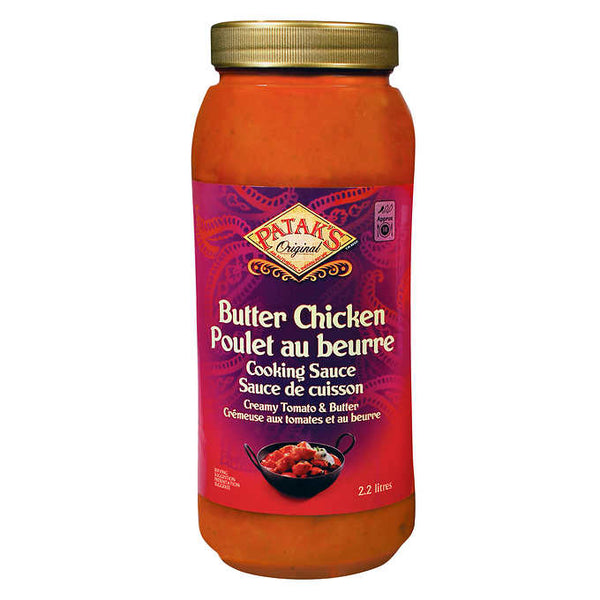 Patak's Original Butter Chicken Cooking Sauce 2.2 L